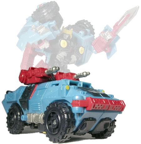Transformers Galaxy Force Exigeyser