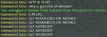 Guild Wars: Annoyances
